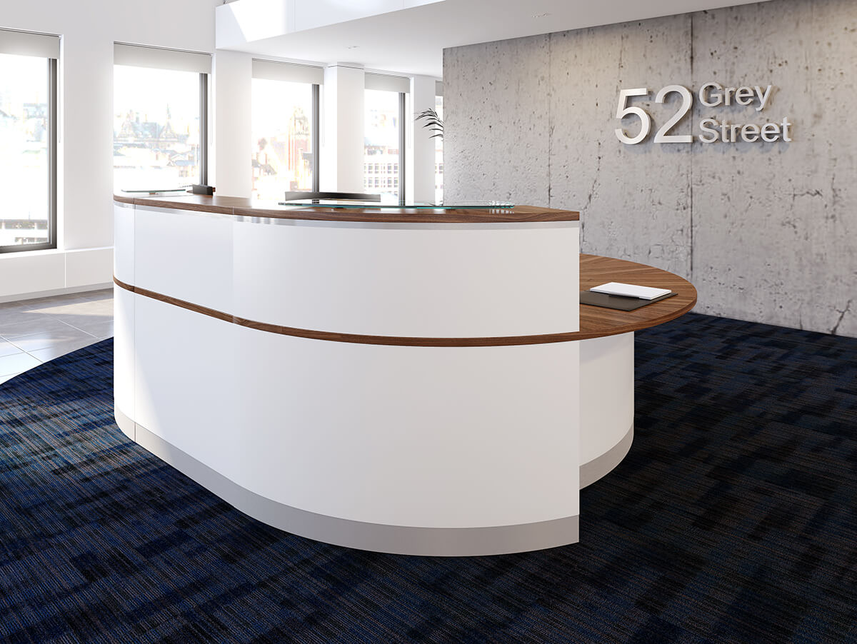 crescent reception counter