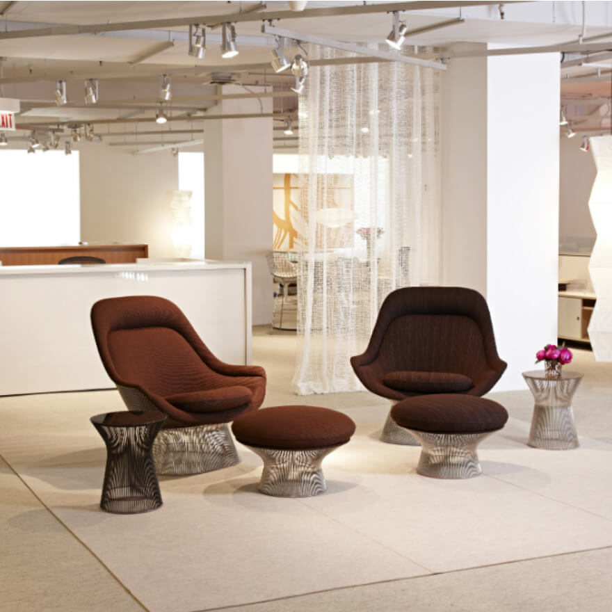 platner reception and waiting room