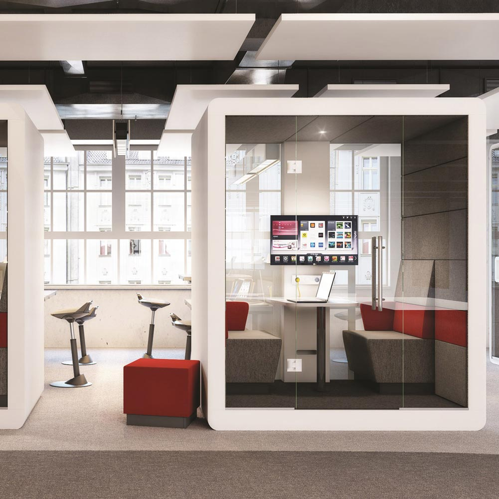 max furniture hush meeting pod rapid office