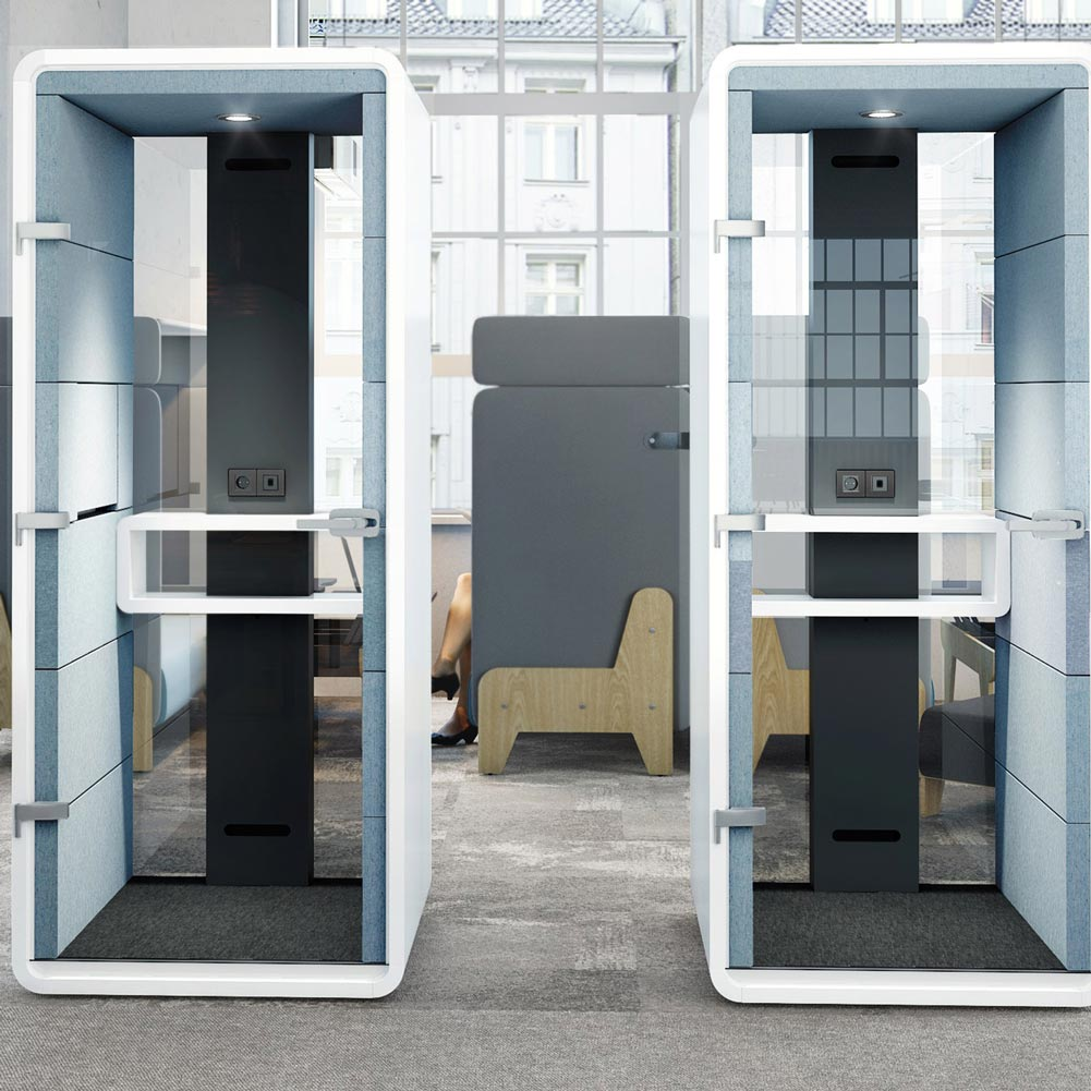 max furniture hush phone booth