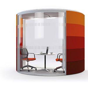 orangebox circular air meeting pod