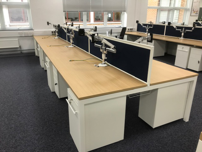 Desk Space for Hi - Tech Engineering Company