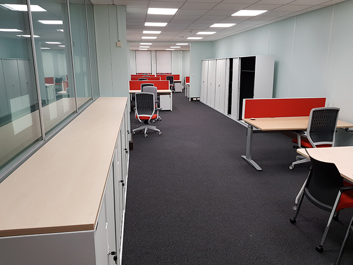 Council Offices Installation