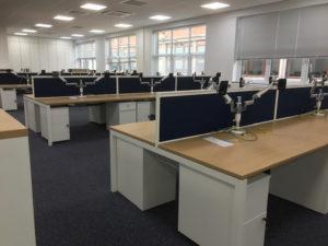 Desks for Hi - Tech Engineering Company