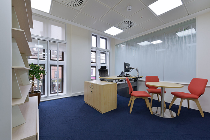 Desk office for International Metal Mining Company