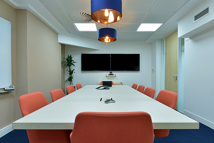 Boardroom for International Metal Mining Company