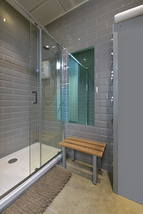 Shower for International Metal Mining Company