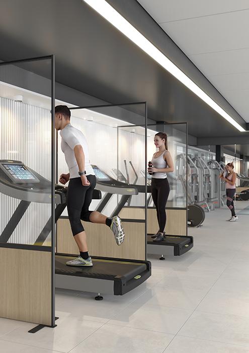 Covid Gym Screen