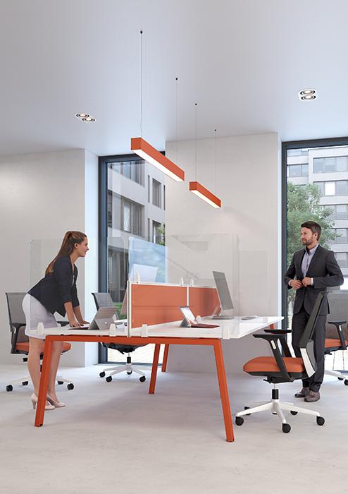 Covid Perspex Desk Screen